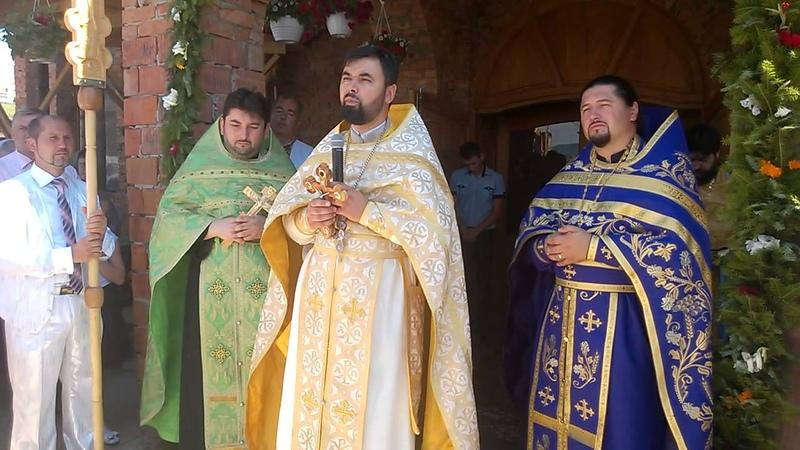 Predica pr. Constantin Ciobotaru 02.08.2015 Biserica nouă din Ciudei