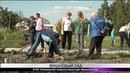 В ТОС Пограничный появился новый парк Вишневый сад