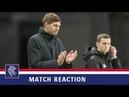 REACTION | Steven Gerrard | Rangers 7-1 Motherwell
