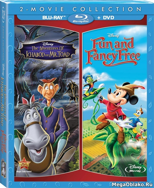 Приключения Икабода и мистера Тоада / Легенда сонной лощины / The Adventures of Ichabod and Mr. Toad (1949/BD-Remux/BDRip/HDRip)