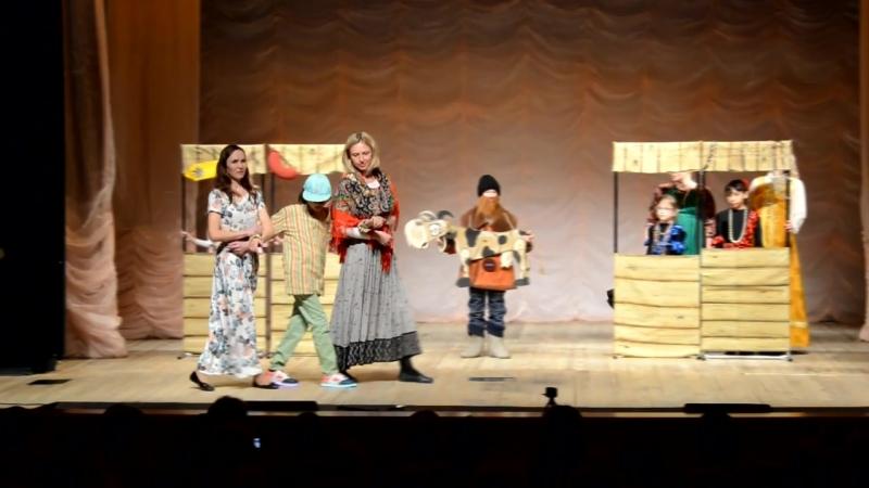 Театр Надежда - Благотворительный концерт-23.04.2018_ч6. Спектакль Как старик корову продавал