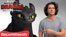 HOW TO TRAIN YOUR DRAGON: THE HIDDEN WORLD | Kit Harington Auditions with Toothless