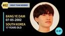 [FINAL] DEBUT MEMBER 02 - BANG YEDAM (방예담) | YG TREASURE BOX EP. 10 (YG보석함) 18012019
