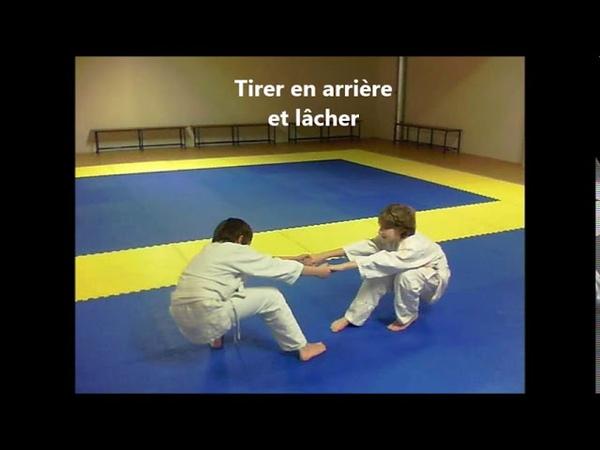 Chute judo à deux