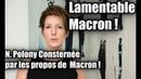 N Polony Consternée par les propos de Macron Il est Lamentable