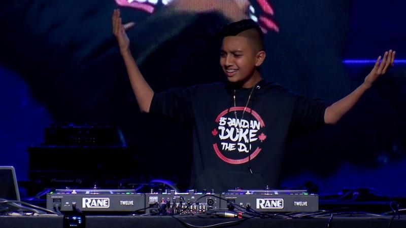 Goldie Awards 2018 Brandan Duke The DJ vs Yuto - Head to Head DJ Battle Performance