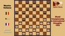 Marcel Bonnard (FRA) - Maurice Verleene (BEL). Draughts World Championship. 1952.
