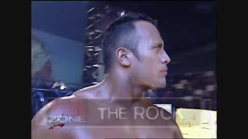 The Rock Vs Chris Benoit - Steel Cage Match - RAW 06.03.2000