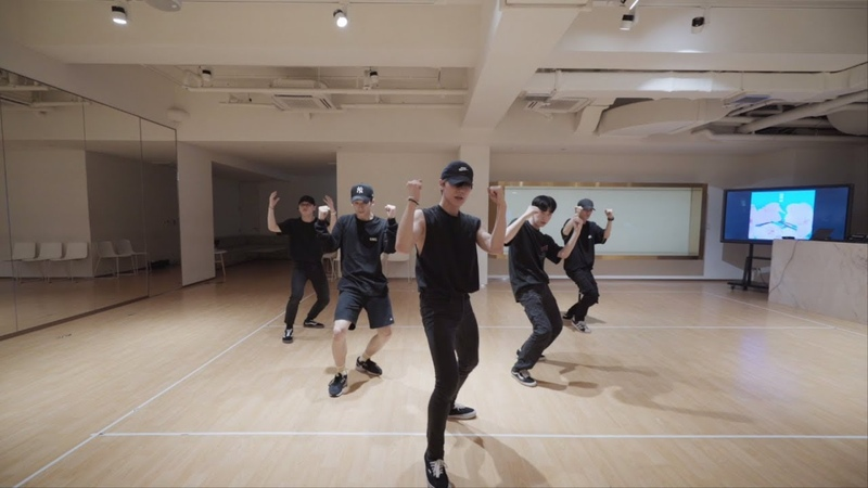 NCT TEN '夢中夢 몽중몽 Dream In A Dream ' Dance Practice THE STATION ver