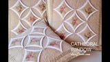 Patchwork tutorial Cathedral Window - Chr