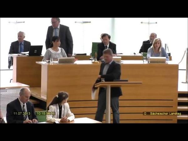 Holger Apfel von Landtagssitzung ausgeschlossen