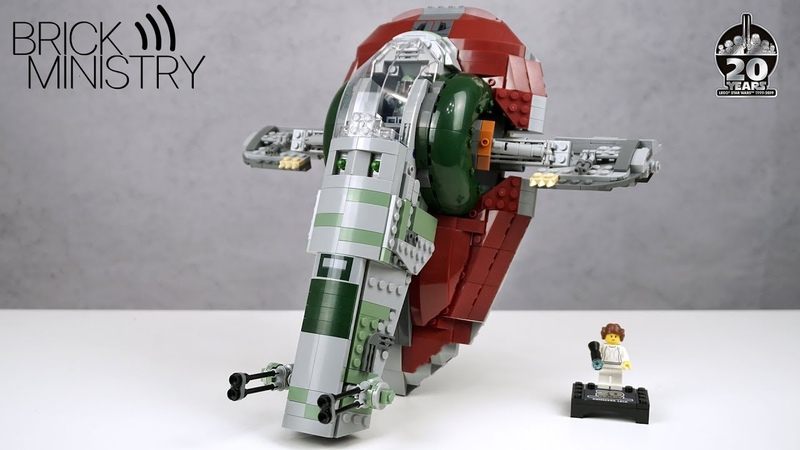 LEGO 75243 StarWars ● Slave 1 [Обзор]