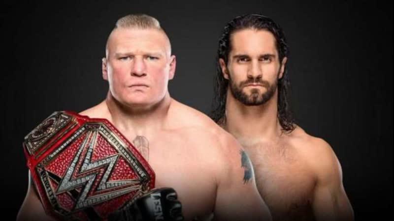 Seth Rollins vs Brock Lesnar WWE SummerSlam 2019 Highlights