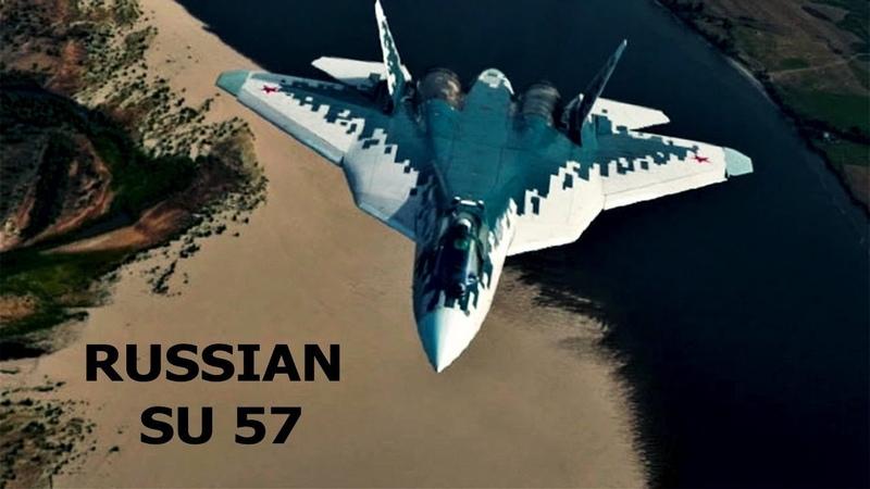 Russian fighter jet su 57 pak fa