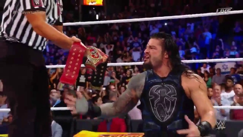 Roman Reigns vs. Brock Lesnar - Summerslam 2018 - WWE Universal Championship