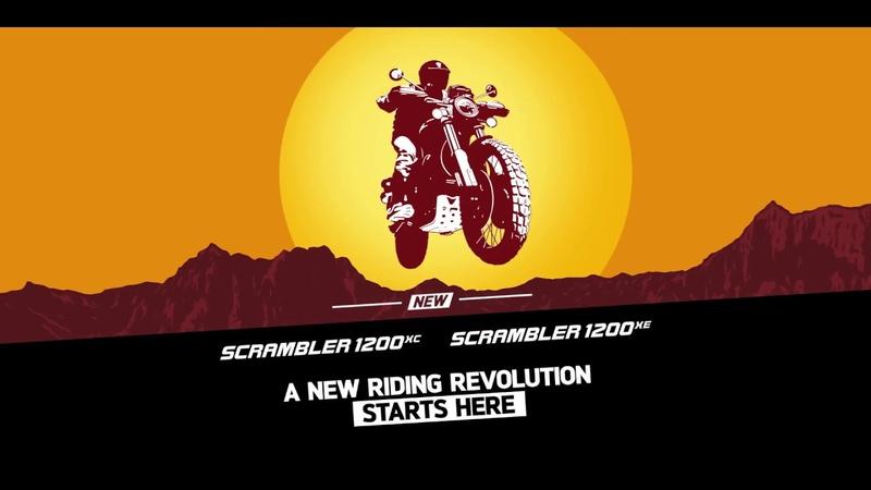 The NEW Scrambler 1200 XC XE - UK