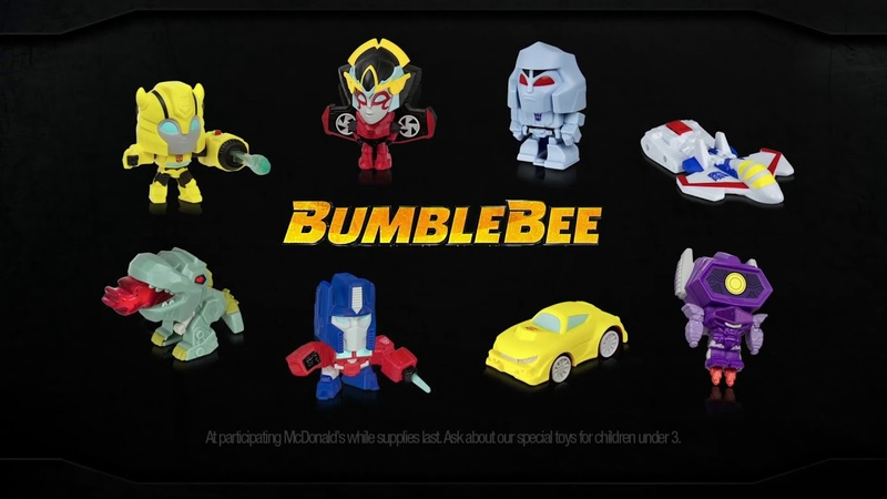 McDonald's Bumblebee: The Movie Happy Meal Toys Commercial 2018
