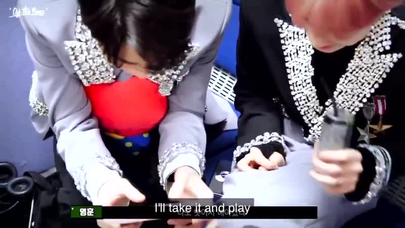 Younghoon holding plushie TATA between his arms tightly is the cutest thing ever. He proba