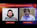 Qarabağ mitinqinə hökümət YOX dedi