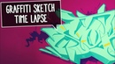 SKETCHING GRAFFITI | Stoke by Smoe