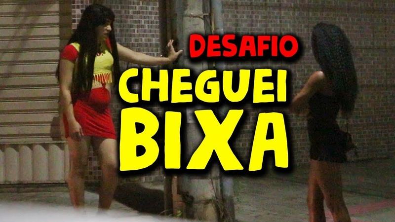 CHEGUEI BIXXA NO PONTO DE GAROTAS DISFARÇADO DESAFIO