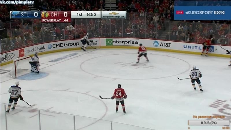 НХЛ 2018-19. Чикаго - Сент-Луис 14.10.2018