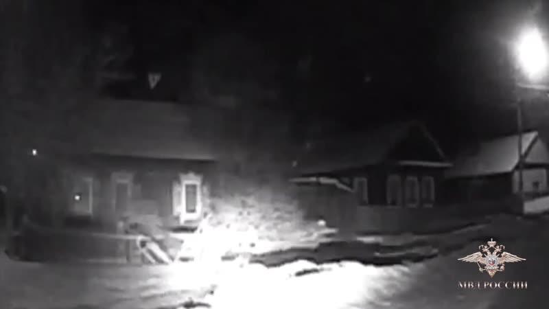 В Красноярском крае сотрудники ГИБДД спасли замерзающую пятилетнюю девочку