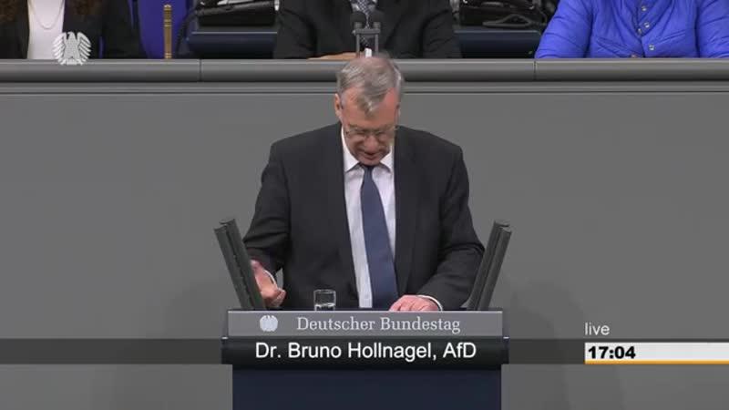 Bruno Hollnagel AFD - Die Linken wollen schon wieder eine neue Steuer einführen-