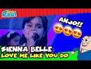 SIENNA BELLE - Love Me Like You Do (Programa Raul Gil)