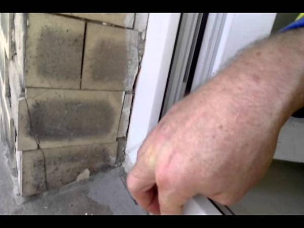 Лечим пластиковые окна от промерзания-часть2(створка)