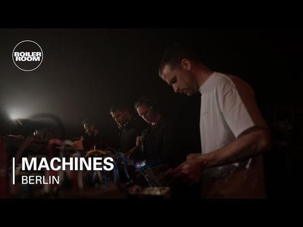 Henning Baer, Robert Lippok, LADA, with Speedy J | Boiler Room Machines Berlin