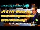 Wissenschaftler entlarvt Klimaschwindel in Bundestag !