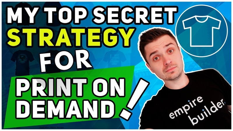 HOW TO START A PROFITABLE PRINT ON DEMAND BUSINESS USING SHOPIFY AND CLICKFUNNELS