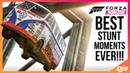 BEST FORZA STUNT MOMENTS EVER!! (Forza Horizon Wins, Tricks and Stunts)