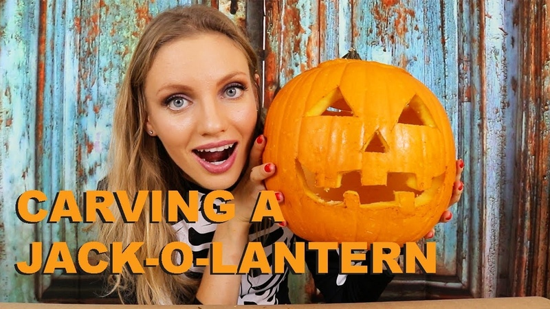 How to Carve a Jack-O-Lantern