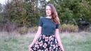 Юбка Осенние цветы