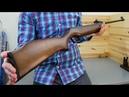 Пружинно-поршневая винтовка Umarex Perfecta 45 видео обзор