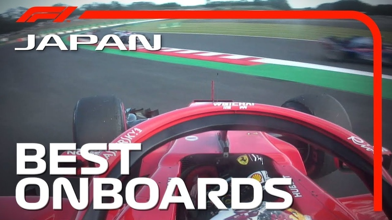 Alonso's Close Shave, Leclerc's Perfect 360 The Best Suzuka Onboards' | 2018 Japanese Grand Prix