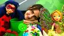 Феи Винкс и Леди Баг - Зимний сад - Мультики для детей