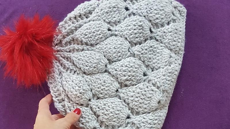 Ahududu İncir Bere / Crochet Figs Hat