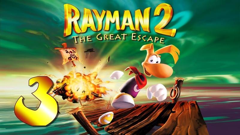 Rayman 2: The Great Escape - Прохождение игры на русском - Болота пробуждения [3]