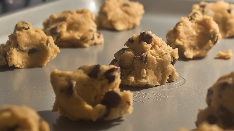 Beachfront B-Roll: Baking Cookies Alt Angle (Free to Use HD Stock Video Footage)