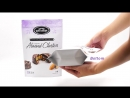 Chocolate stand up pouch