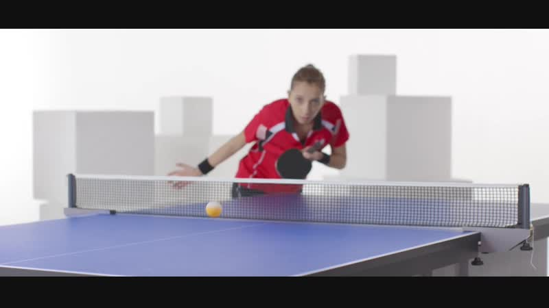 How To Play Table Tennis - Reverse Pendulum Backspin Serve