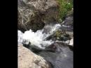 Водопад на реке Краснохты недалеко от деревни Поляковка Учалинского района