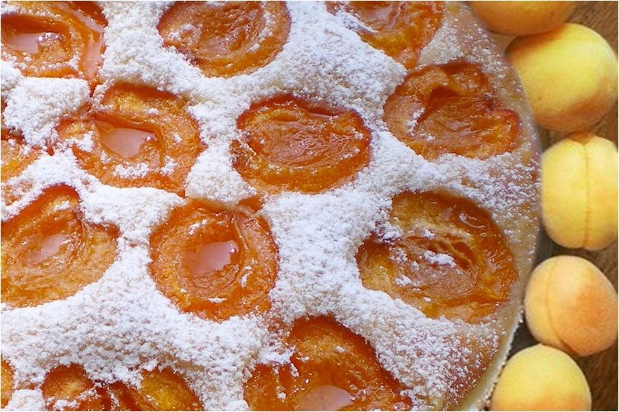 Пирог Восхищение с абрикосами