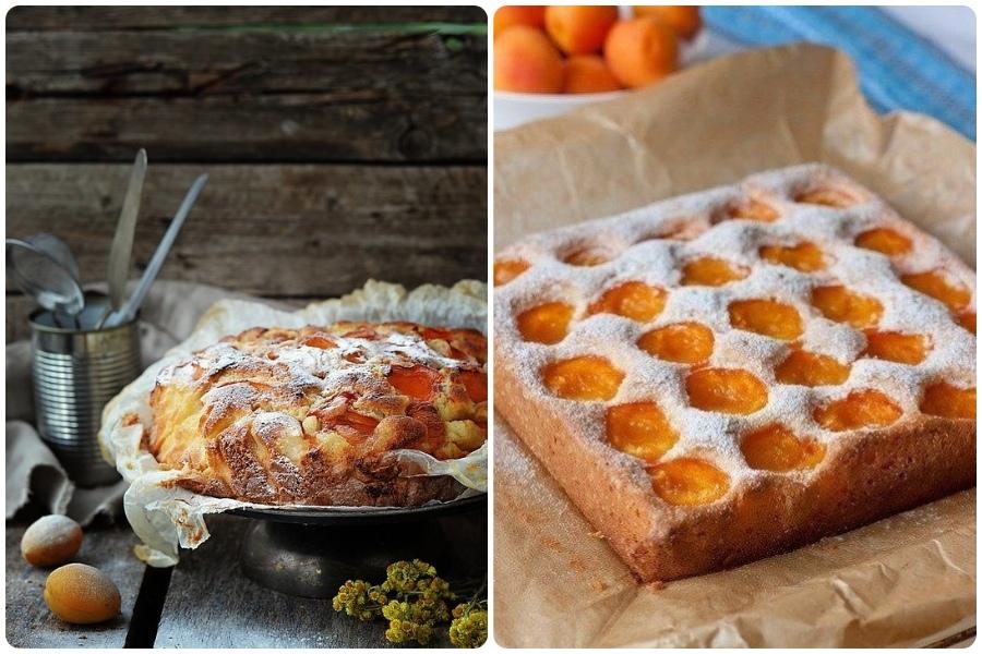 Пирог Восхищение, с абрикосами