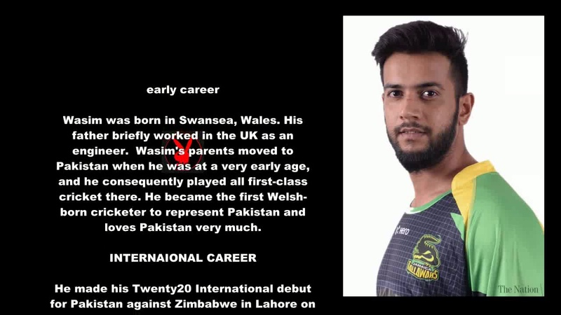 Imad Wasim Pakistani Cricketer Biography With Detail