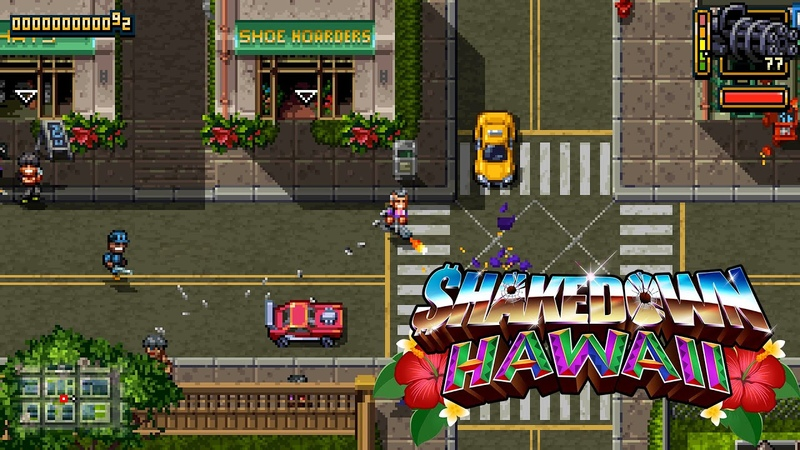 Shakedown: Hawaii | Gameplay Overview Trailer [Nintendo Switch, PS4, PSVITA, 3DS, Steam]