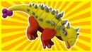 How To Make An Ankylosaurus Dinosaur by Playdoh